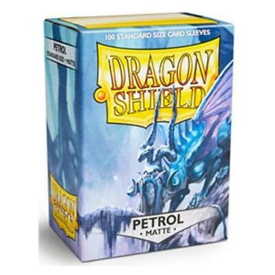 Dragon Shield - 100 Sleeves / Kartenhüllen Standard - Matte Petrol - OVP