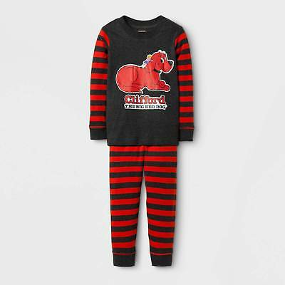 Toddlers' Clifford Long Sleeve Pajama Set