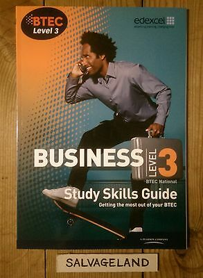 Business Study Skills Guide, BTEC Level 3 National By Edexcel * NEW *