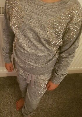 Girls Tracksuit Age 5-6 7-8 9-10 11-12