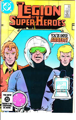 Legion of Super Heroes #312