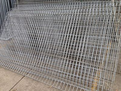 Rolled Top Edge Protection Fence 1.2m high 2.4m wide $55!!!