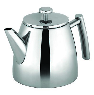 NEW Avanti Modena Double Wall Teapot 1.2 Litre - Stainless Steel Lowest Price!!