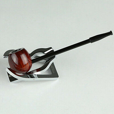 Red Wood Durable Wooden Smoking Pipe Tobacco Cigarettes Cigar Pipes New Gift