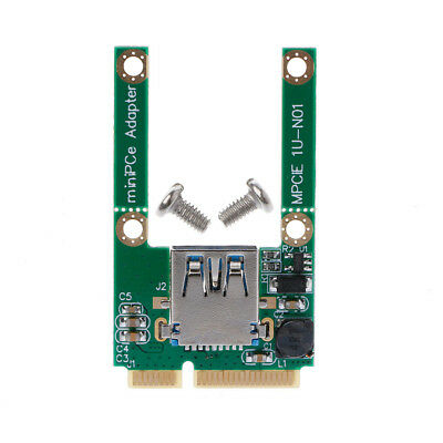 1 Set Mini PCI-E PCI-Express Card To USB 3.0 Male Converter Adapter Card