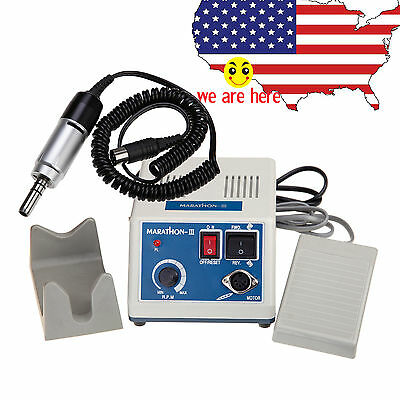 Dental 35K RPM E-type Micromotor Lab Electric Marathon Unit Electric Polishing