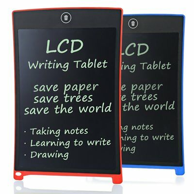 """8.5""""/12"""" LCD Writing Tablet Pad for Boogie Board Jot Style eWriter Boards Stylus"""