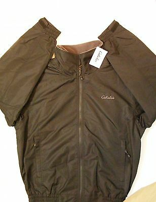 Cabela's Men's Fleece Lined Jacket New with Tags Size M Color Black