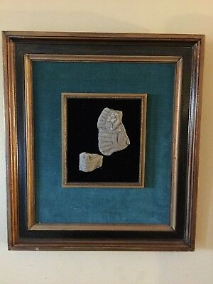 pre columbian artifact - framed antiquities