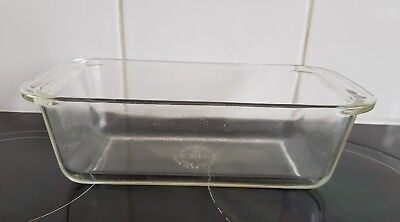 PYREX Bread dish Clear Rectangle 213 Ovenware