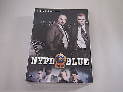 NEW NYPD Blue - Season 1 (DVD, 2003, 6-Disc Set) New / Sealed!