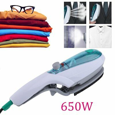 Steam Brush Iron Travel Handheld Portable Clothes Steamer Garment Brush Au Np