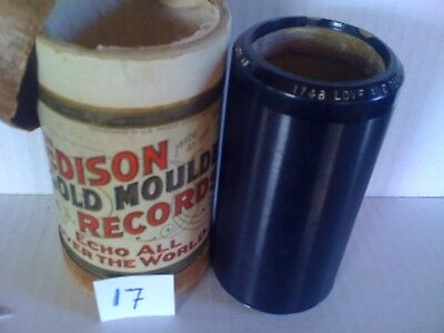 EDISON AMBEROL CYLINDER--LOVE and DEVOTION.