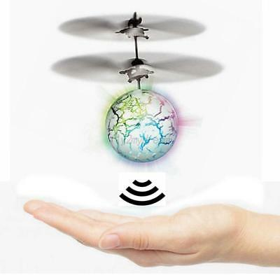 Discoloration Induction Flying Ball Drone Sensor Aircraft Kids Helicopter RC Toy