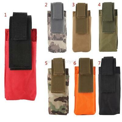 Portable Military Molle Medical Pouch Outdoor EMT Scissor Knife Flashlight Bag