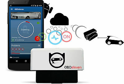 OBDeleven Android Audi VW Bluetooth Diagnostic Tool OBD2 VAG CAN HEX VAS VCD COM