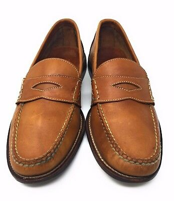 144e7460bfc Cole Haan Mens Shoes British Tan Pinch Grand Penny Loafer Slip On Size 7.5 D