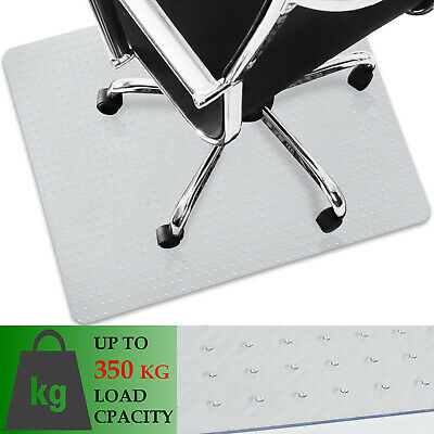 Heavy Duty Chair Mat Home Office Carpet Protector Extra Thick Clear Floor Mat