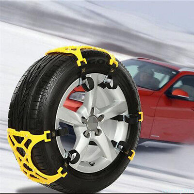 2 PCS Snow Tire Chain for Car Truck SUV Anti-Skid Emergency Winter Driving