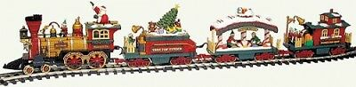 New Bright Industries X-Mas Holiday Express Train Set