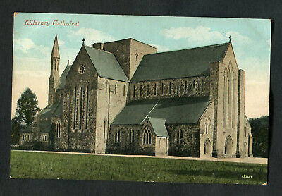 C1910 View of Killarney Cathedral, Eire