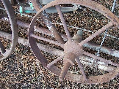 Antique Steel Wheel