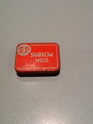 Vintage Collectible Wilsons & Co Sharrow Mills Tobacco Tin