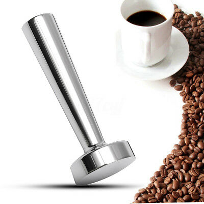 Stainless Steel 24mm Coffee Tamper Flat Base For Nespresso Machine Capsule Pod