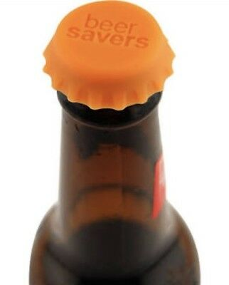 6 X Silicone Beer Caps Beer Savers Cool Drinking Gadget Gift Weed