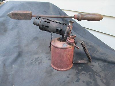 Vintage blowtorch and soldering iron