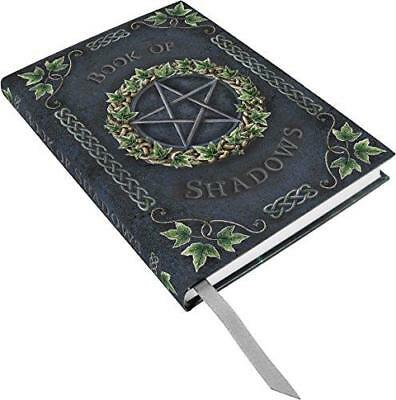 Book of Shadows Hard Cover Embossed Journal by Luna Lakota