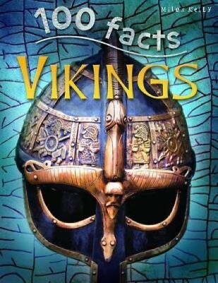 '100 Facts Vikings' by Fiona MacDonald Paperback Book