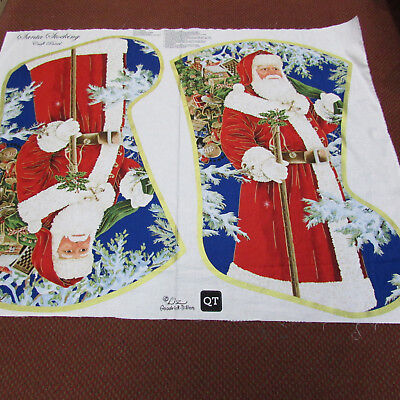Extra Large Christmas Stocking panel  to make