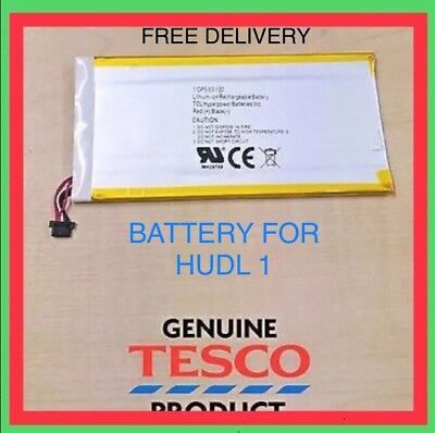1st Generation Spare Repair Replacement Battery Genuine for Tesco Hudl 1 Tablet