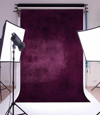 Vinyl Photo Backdrops Purple Wall Photography Background Studio Props 5x7ft