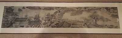 Collectible Chinese silk scroll