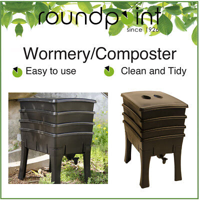 """Roundpoint """"Easy to Use"""" COMPOST WORMERY - 100 litres - Composter/Compost Bin"""