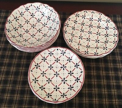 """Royal Staffordshire Heirloom J & G Meakin England """"Country French"""" 13 Piece Set"""