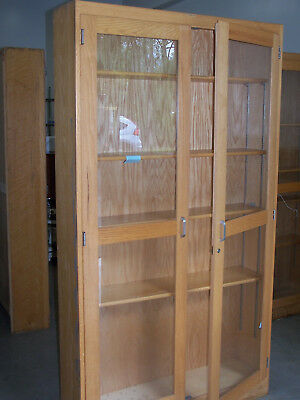 """used""  2 Door / 5 Shelf - Wood  Storage Cabinet-Pick Up Only! #4"