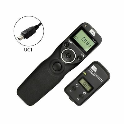 Pixel TW-283/UC1 LCD Wireless Timer Shutter Release Remote Control for Olympus