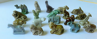 Mixed Lot 20 Vintage Wade Figurines England Red Rose Tea Animals VGC Whimsies