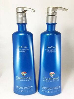 ColorProof TruCurl Curl Perfecting Shampoo 25.4 oz & Conditioner 25.4 oz