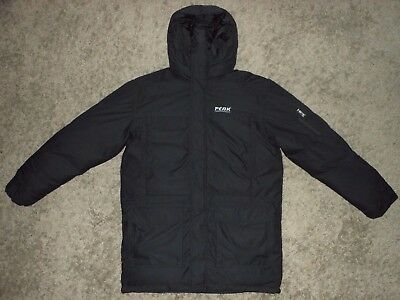 Mens Peak Performance Expedition Down SD Parka / Hooded Jacket - Size XL