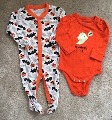 6mo Baby Boy Infant Halloween Baby Gap Bodysuit 6-12mo Old Navy Sleeper 6-9mo
