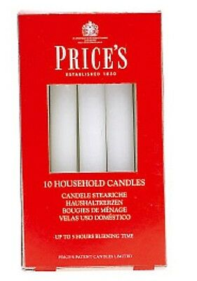 10 Prices Household Candles - Emergency Wax Candles Unscented