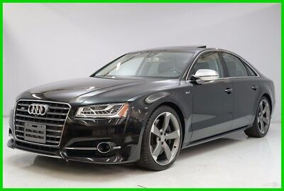 2015 Audi S8 4.0T 2015 4.0T Used Turbo 4L V8 32V Automatic AWD Sedan Premium Bose