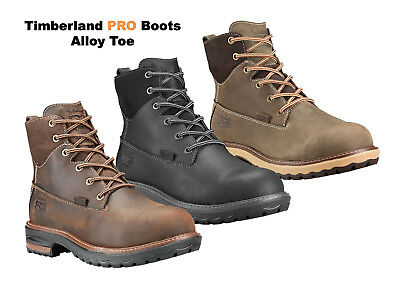 78ad003e5f4 TIMBERLAND PRO WORK Boots Hightower 6 In Alloy Toe Womens Work Shoes NEW