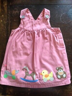 Baby Boden Girl Applique Dress 12-18 Months