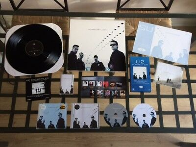 U2: Beautiful Day 'PLAYBACK PRESS PACK' Promo Collection - Vinyl - CD - Etc...