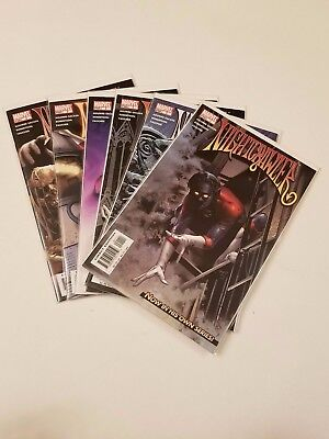 Nightcrawler  #1-12  VF/NM  (Full Run, Lot of 12) Marvel 2004 X-Men Complete Set